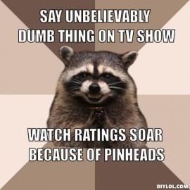 Just because your ratings are bigger doesn't mean you're better.