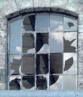 The argument of the broken window pane is the most valuable argument in modern politics.